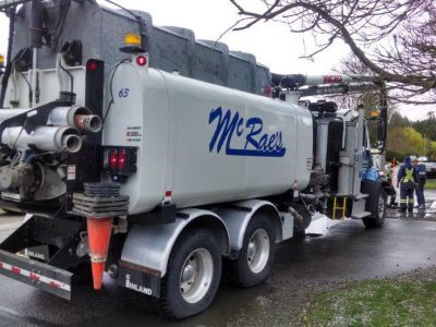 mcraes septic company cache basin cleaning